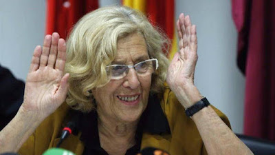 Carmena, Ahora Madrid, subvenciones, podemos, comunismo, enchufismo