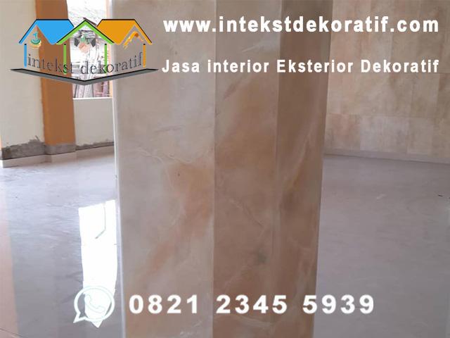 Wash Marble Pillar