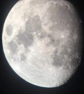 Total måneformørkelse på Gran Canaria