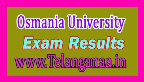 Osmania University M.Pharmacy 1st Year/2nd Sem Supply April 2016 Exam Results Download