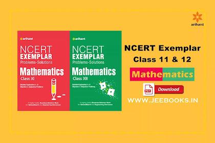 [PDF] Arihnat Mathematics NCERT Exemplar Class 11 and 12 Download