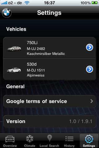 Control Your BMW From Your iPhone - cars & life blog | cars
