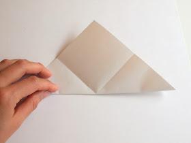 fun summer origami for kids- fold an origami mermaid