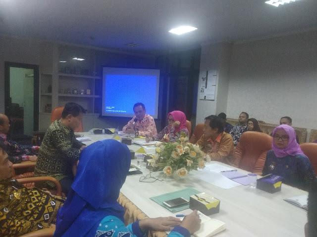 Rapat Koordinasi Pembentukan Tim Satuan Tugas Kartu Petani Berjaya Provinsi Lampung, di Hadiri Perwakilan Dari Tiap Dinas Provinsi Lampung