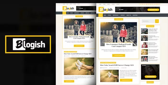 Blogish Responsive Blogger Template Free Premium