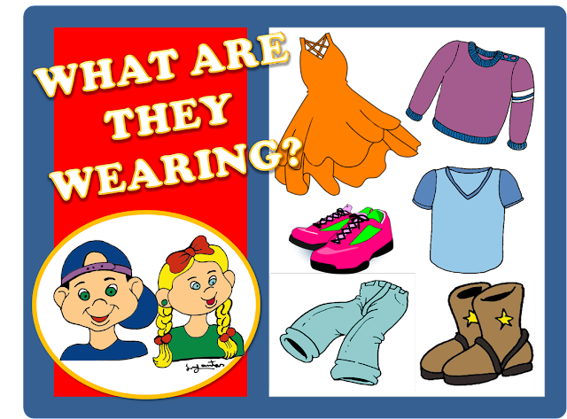 English is FUNtastic: Clothes - interactive game