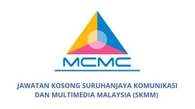 Jawatan Kosong SKMM 2019 Suruhanjaya Komunikasi Dan Multimedia Malaysia