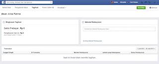Cara Bayar iklan facebook