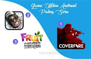 Inilah 3 Game Offline Android Paling Seru