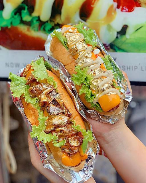 Hotdog dát vàng