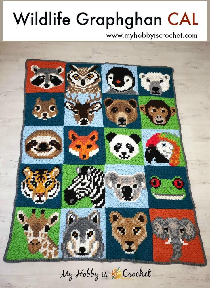 Wildlife Graphghan Free Crochet CAL