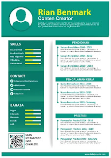 Download Contoh Curriculum Vitae Microsoft Word Gratis