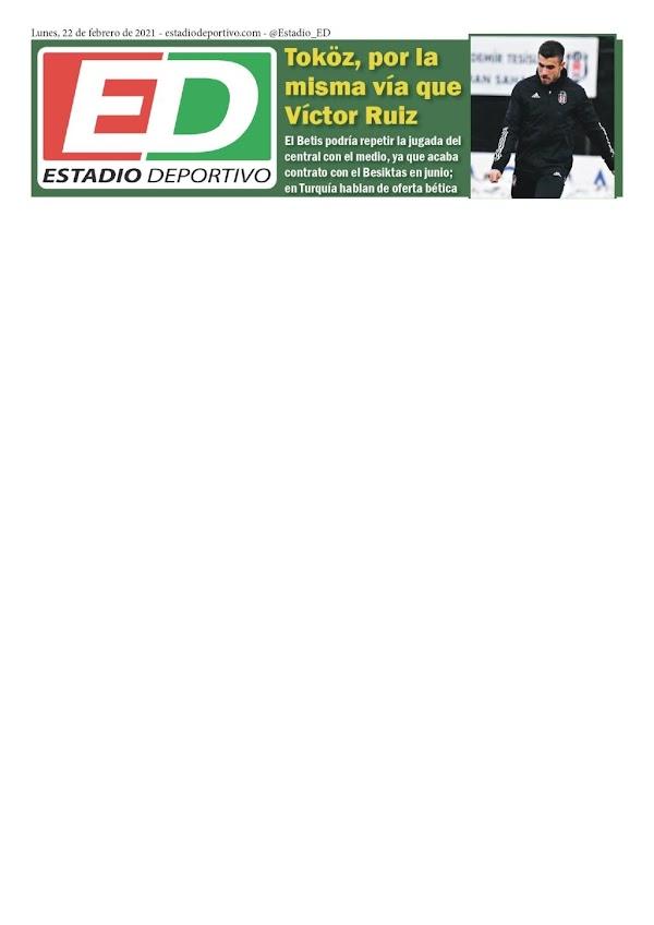 """Betis, Estadio Deportivo: """"Tokoz, por la misma vía que Víctor Ruiz"""""""
