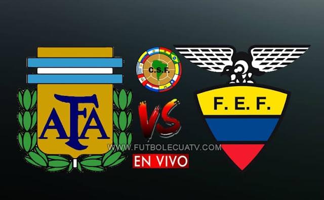 Argentina recibe a Ecuador en vivo y en directo a partir de las 19:30 horario local, por la fecha 1 de las Eliminatorias Qatar 2022. Siendo emitido por CNT Sports y El Canal del Futbol a efectuarse en el Estadio Bombonera de Buenos Aires. Con arbitraje principal de Roberto Tobar.
