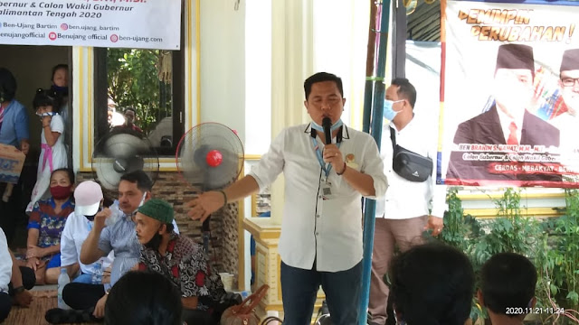Tim Pemenangan Ben - Ujang Sampaikan Visi Misi Di Kecamatan Paju Epat, Tempat Asal Usul Istri Ben Brahim