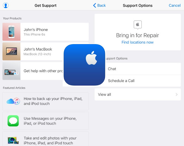 Apple has released its new app called Apple Support app in Apple Store in the United States which was previously launched in the Netherlands and few other countries.