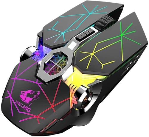 Review Zienstar 2.4Ghz Wireless Gaming Mouse