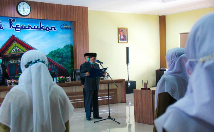 Sekda Kota Banda Aceh Kukuhkan 11 Pejabat Lama Dan Lantik 7 Pejabat Baru