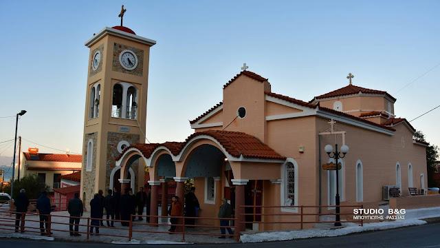 Επαναλειτουργεί και πάλι ο Ιερός Ναός του Τιμίου Προδρόμου στο Κιβέρι Αργολίδας (βίντεο)