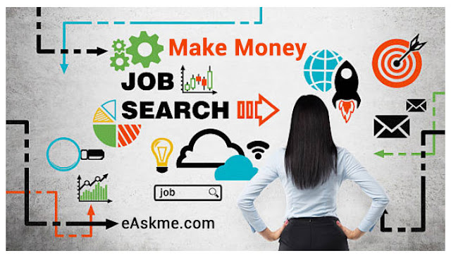 How to Make Money While Searching for a Job: eAskme