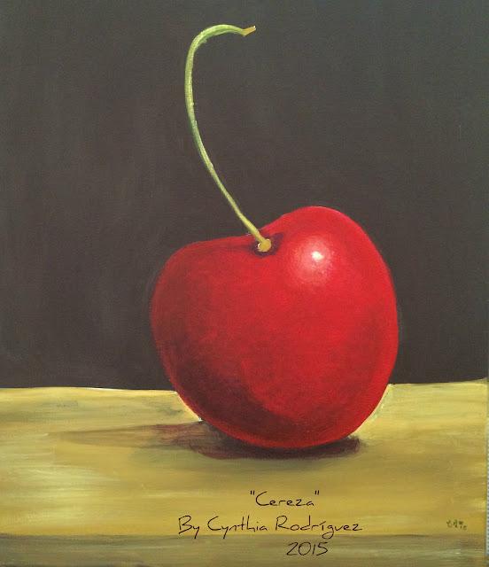 Cereza, Cynthia R. Arte, don y pasión