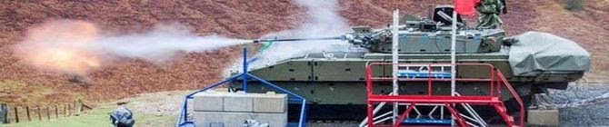 UK Halts Trials of New Tanks That Vibrate And Can't Go Fast