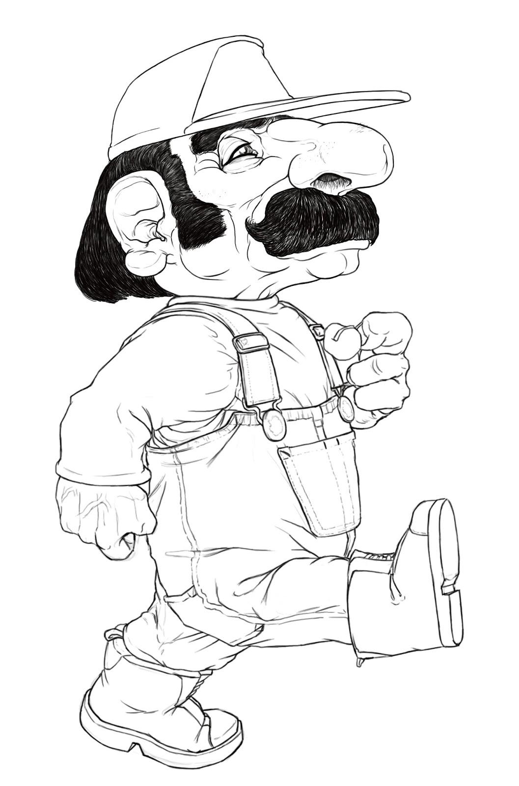 Alessandro Piedimonte's Blog: It's a me Realistic Mario!