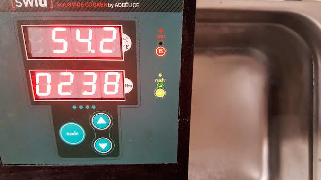 Cuisson sous vide : Régler la température de l'appareil