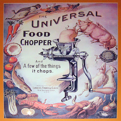Universal Food Chopper Vintage Ad