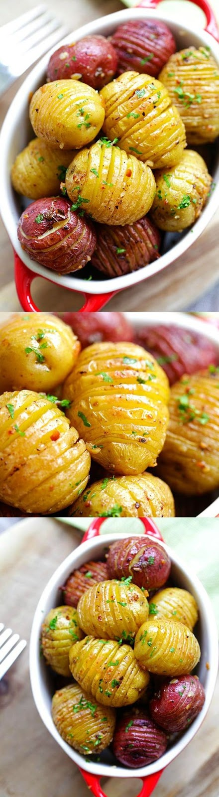 Everyone loves roasted potatoes, a side dish that is all-season friendly. They are great with everything: meat, chicken, fish, pasta; making it one of the most versatile side dishes to serve to your family.