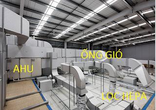 Thiết kế hệ thống HVAC cho phòng sạch
