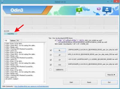 Cara Flashing Samsung A20 SM-A205F Via Odin Menggunakan Firmware Full Repair Android 9.0 Pie