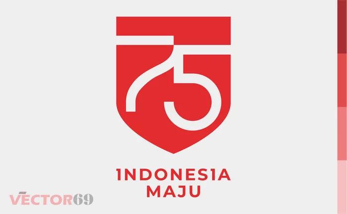 Logo Resmi HUT RI ke-75 Tahun 2020 - Download Vector File PDF (Portable Document Format)