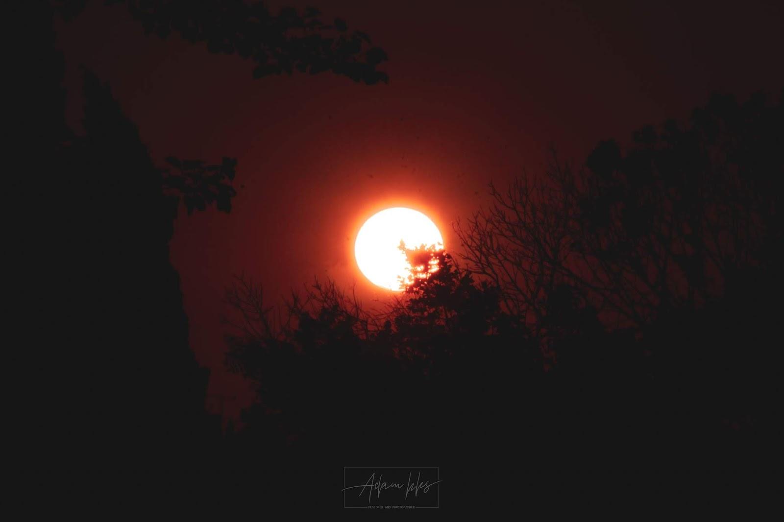 اجمل خلفيات غروب الشمس