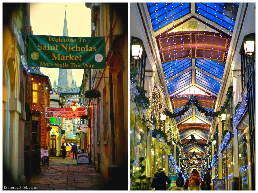 Saint Nicholas Market in Bristol