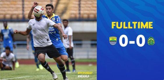Persib Bandung Diimbangi Persikabo 0-0