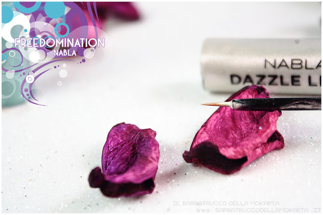 dazzle liner nabla cosmetics review freedomination collection summer