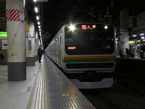 【ダイヤ改正で廃止!】宇都宮線・高崎線 通勤快速 上野行きE231系