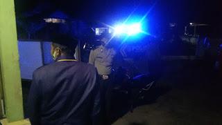 Tekan Angka Tindak Kejahatan, Kanit Sabhara Polsek Curio Galakkan Patroli Blue Light