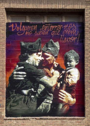 Mural de Roc Blackblock a Can Batlló