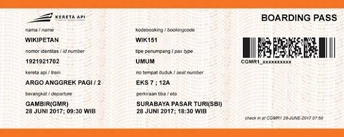 Tips Jika Nomor Kode Booking Tiket KA Kita Hilang Atau Lupa