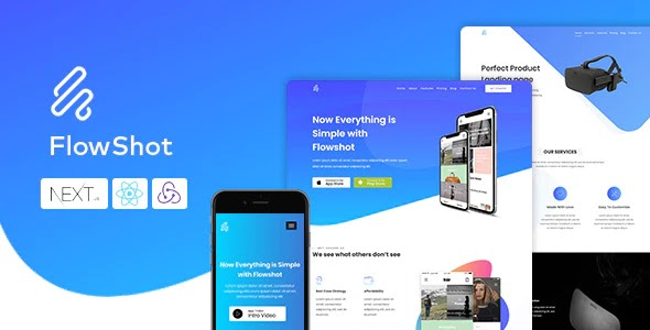 Multi Concept App & Saas Landing Page Theme