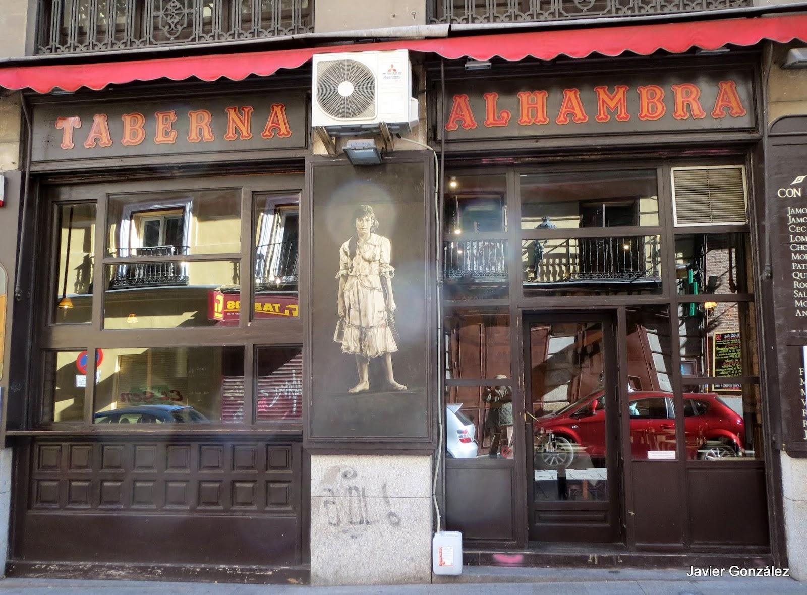 Cantina de la Taberna Alhambra, Calle de la Victoria,9
