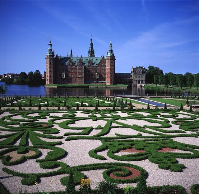 Visita ao Castelo de Frederiksborg, Dinamarca