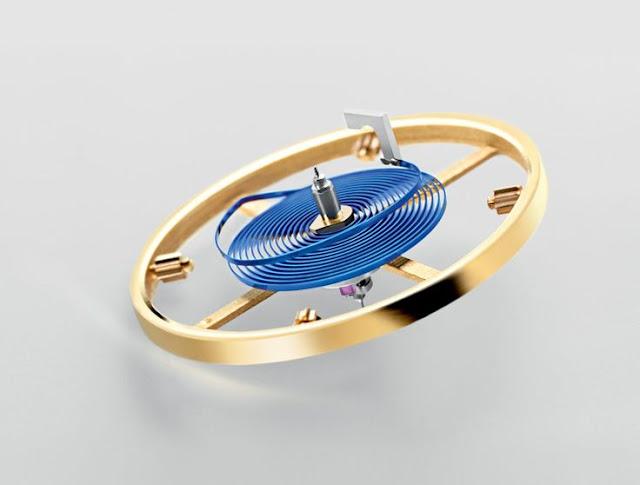 Photo of Rolex Blue Parachrom Hairspring (photo: Rolex)