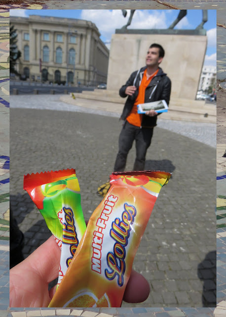 Lollies on the Bucharest Walkabout Tour