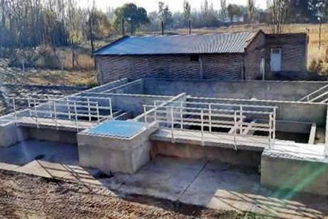 Plan Castello: En Gómez avanza la nueva planta potabilizadora