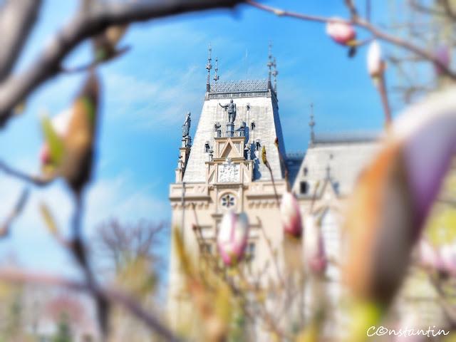 Iasi-Palatul_Culturii- Impresionism (Focusul printre) - blog FOTO-IDEEA