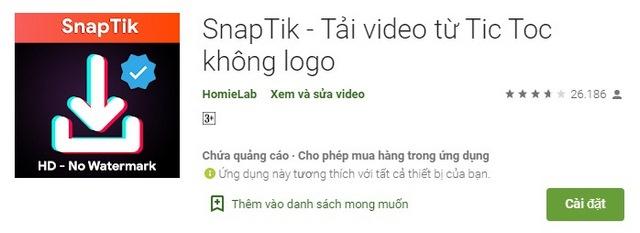 Ung-dung-tai-video-khong-co-logo-snaptik-android