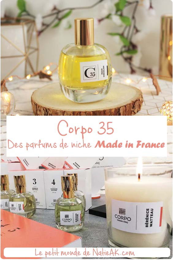 avis sur corpo 35, les parfums de niches